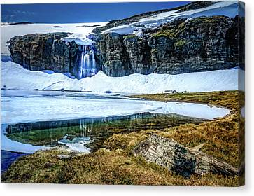 Canvas Print featuring the photograph Seasonal Worker by Dmytro Korol