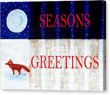 Seasons Greetings 13 Canvas Print by Patrick J Murphy