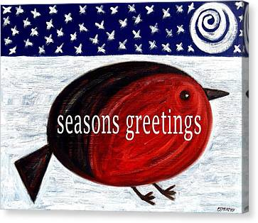 Seasons Greetings 4 Canvas Print by Patrick J Murphy