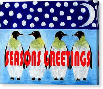 Seasons Greetings 9 Canvas Print by Patrick J Murphy