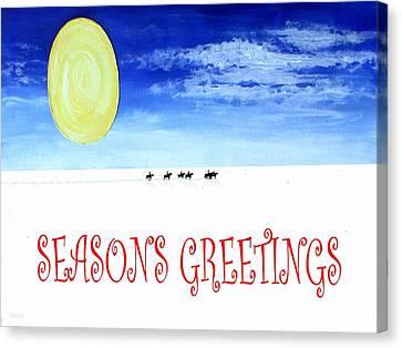Seasons Greetings 91 Canvas Print by Patrick J Murphy