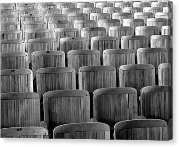 Seat Backs Canvas Print by Todd Klassy