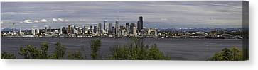 Seattle At Its Best Canvas Print by James Heckt
