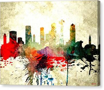 Seattle Skyline Canvas Print - Seattle by Daniel Janda