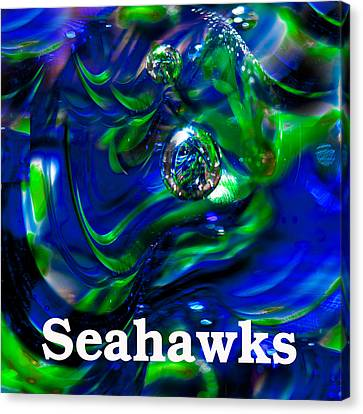 Seattle Seahawks 2 Canvas Print by David Patterson