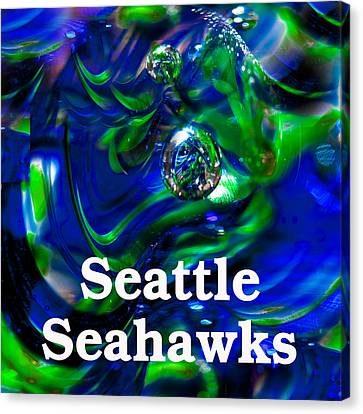 Seattle Seahawks Canvas Print by David Patterson