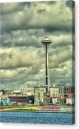 Seattle's Landmark Canvas Print by Dale Stillman