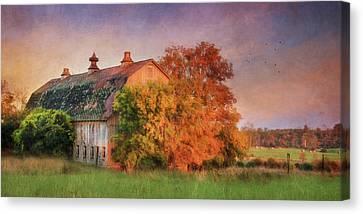 Rural Canvas Print - Seaway Trail Scenery by Lori Deiter