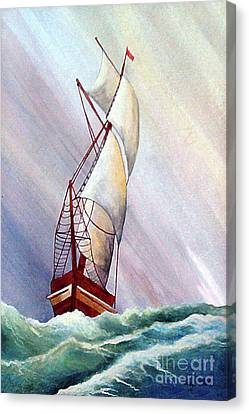 Seawinds Canvas Print by Corey Ford