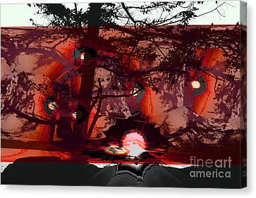 Sechelt Sunset 5 Canvas Print