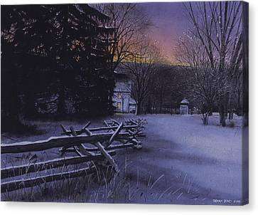 Secluded Canvas Print by Denny Bond
