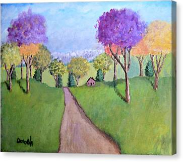 Secluded Canvas Print