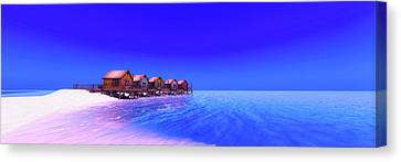 Secluded Solitude Canvas Print