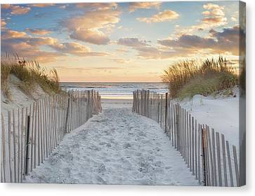 Second Beach Sunset Canvas Print