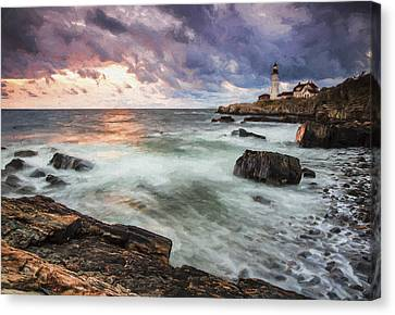 Second Day Begins II Canvas Print by Jon Glaser