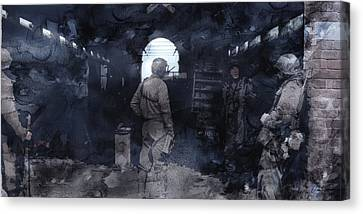 Infantryman Canvas Print - Second World War 25 by Jani Heinonen