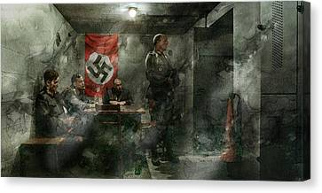 Infantryman Canvas Print - Second World War 422 by Jani Heinonen