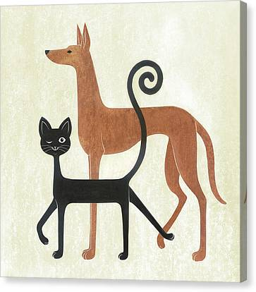 Secret Alliance Canvas Print by Renu K