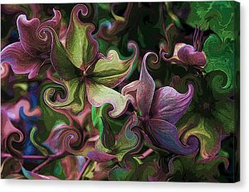 Secret Garden Canvas Print by Barbara  White