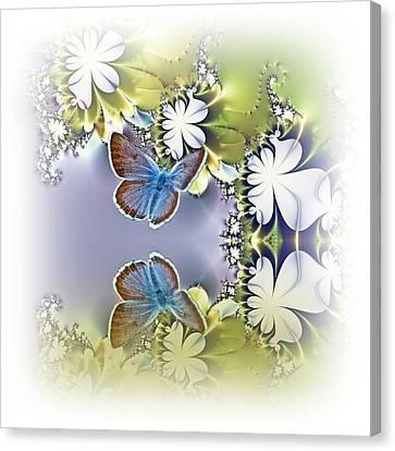 Secret Garden Canvas Print by Sharon Lisa Clarke