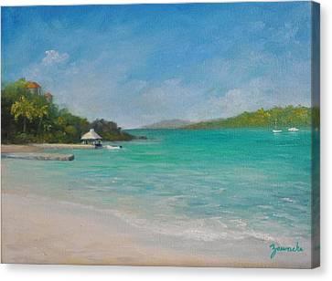 Secret Harbor Canvas Print