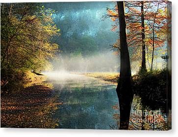 Canvas Print featuring the photograph Secret Hideaway by Tamyra Ayles