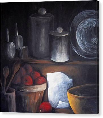 Secret Recipe Canvas Print by Sharon Marcella Marston