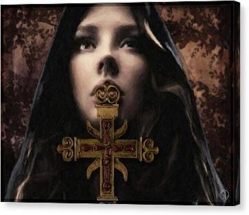 Secret Ritual Canvas Print