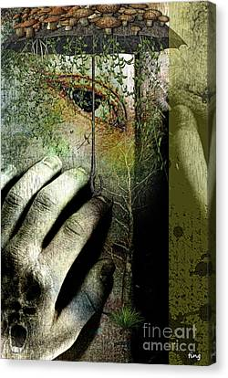 Cryptic Canvas Print - Secret Soul by Ting Huang