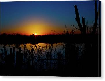 Secret Sunset Canvas Print by Mark Andrew Thomas
