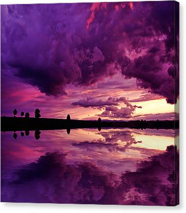 Canvas Print featuring the photograph Secret World by Philippe Sainte-Laudy