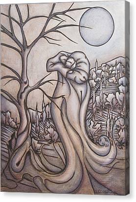 Secrets And Dreams Canvas Print