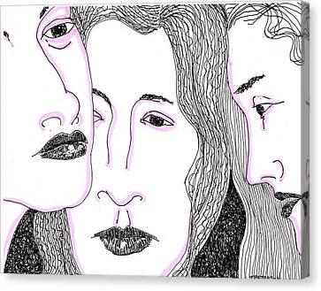 Secrets Canvas Print