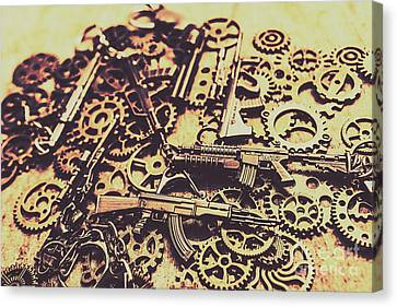 Complex Canvas Print - Security Stockpile by Jorgo Photography - Wall Art Gallery