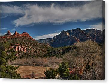 Canvas Print featuring the photograph Sedona Arizona 001 by Lance Vaughn