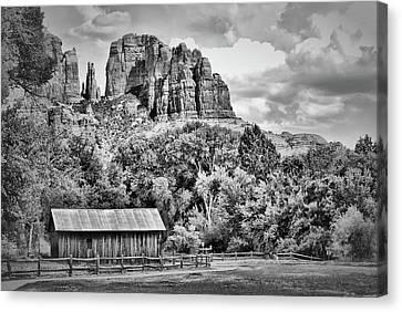 Sedona Arizona Landscape - Cathedral Point Canvas Print