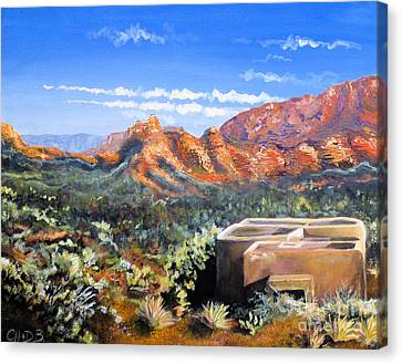 Sedona Canvas Print by Chad Berglund