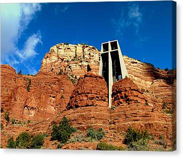 Sedona Chapel Of The Holy Cross Canvas Print