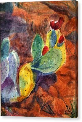 Sedona I Canvas Print by Stephanie Allison