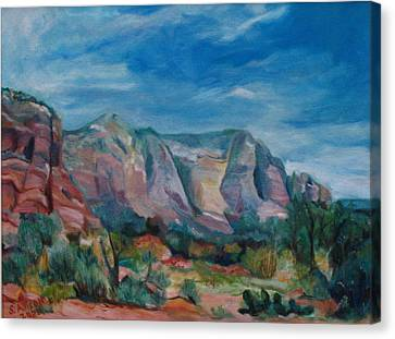 Sedona II Canvas Print by Stephanie Allison
