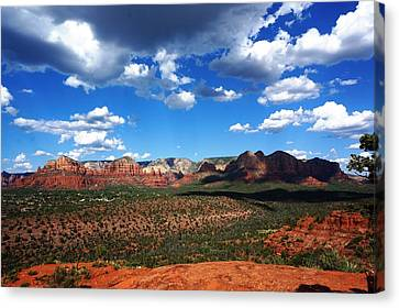 Sedona Canvas Print by Julia Ivanovna Willhite