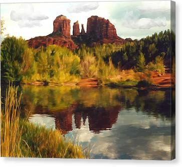 Sedona Canvas Print by Kurt Van Wagner