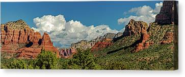 Sedona Panoramic II Canvas Print by Bill Gallagher