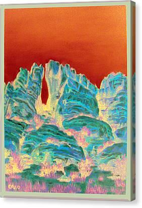 Sedona Portal Canvas Print by Edward Williams