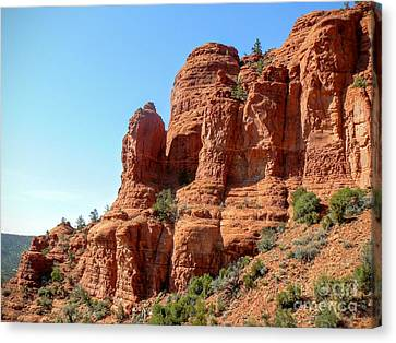 Sedona Red Rock Legends II Canvas Print by Rincon Road Photography By Ben Petersen