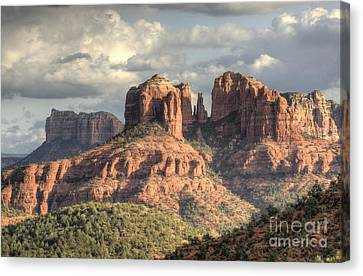 Sedona Red Rock Vista Canvas Print by Sandra Bronstein