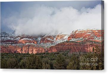 Canvas Print featuring the photograph Sedona Revealed by Sandra Bronstein