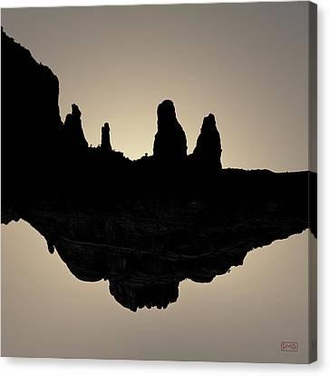Sedona Revisited I Toned Canvas Print by David Gordon