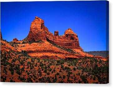 Sedona Rock Formations Canvas Print