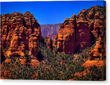 Sedona Rock Formations II Canvas Print by David Patterson